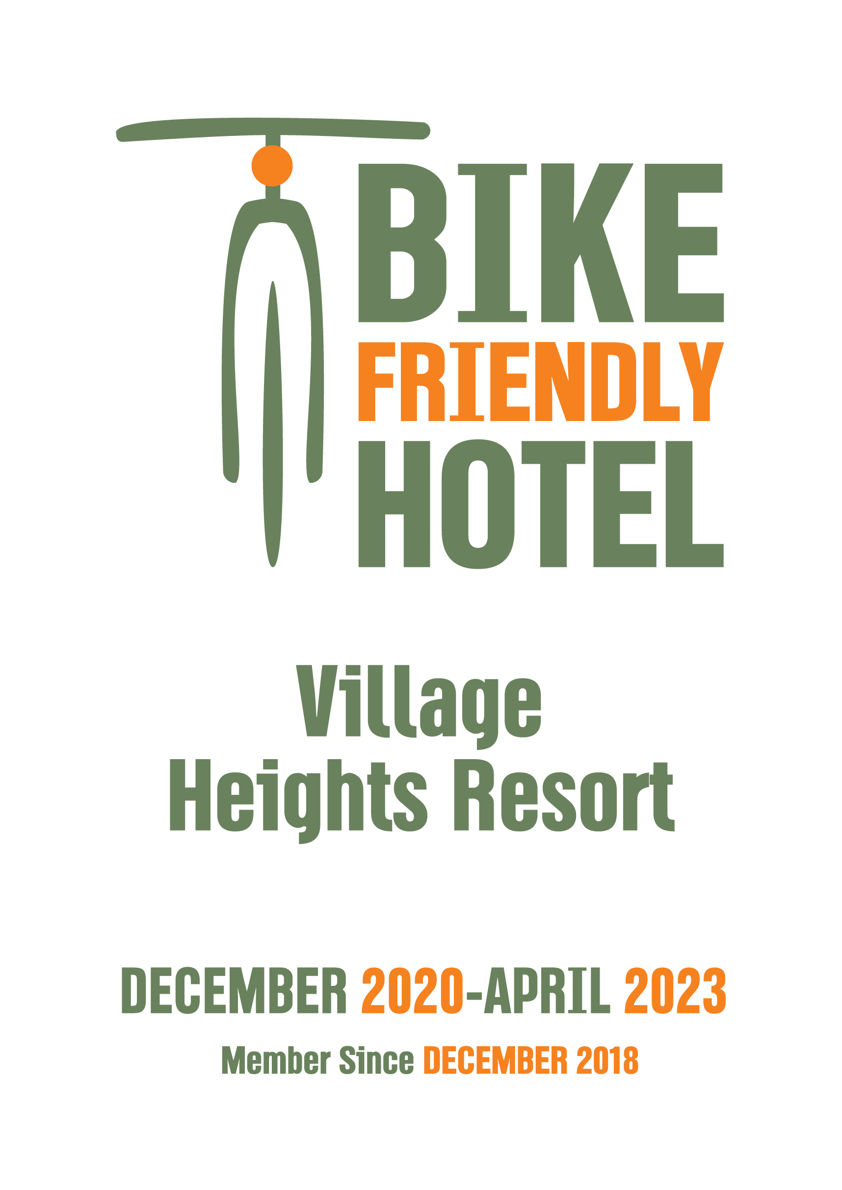 Village Heights Resort Is A Bike Friendly Hotel